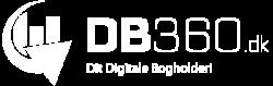 Logo DB360 Transparent Hvid 3